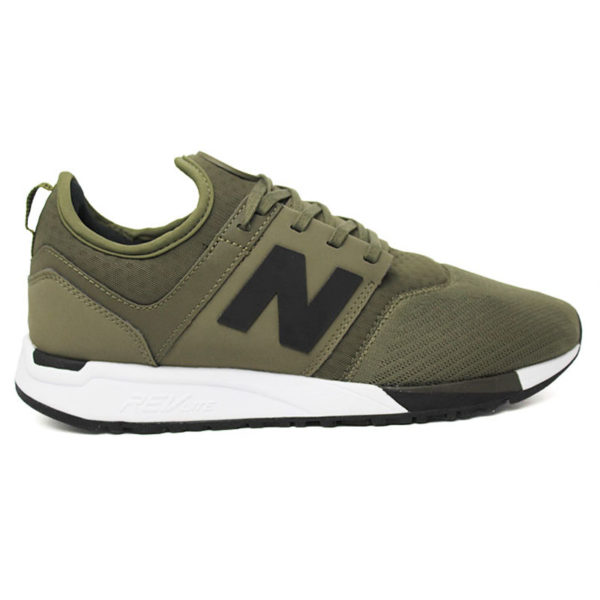 NEW BALANCE 247 MASCULINO OLIVE VERDE/CINZA/BCO