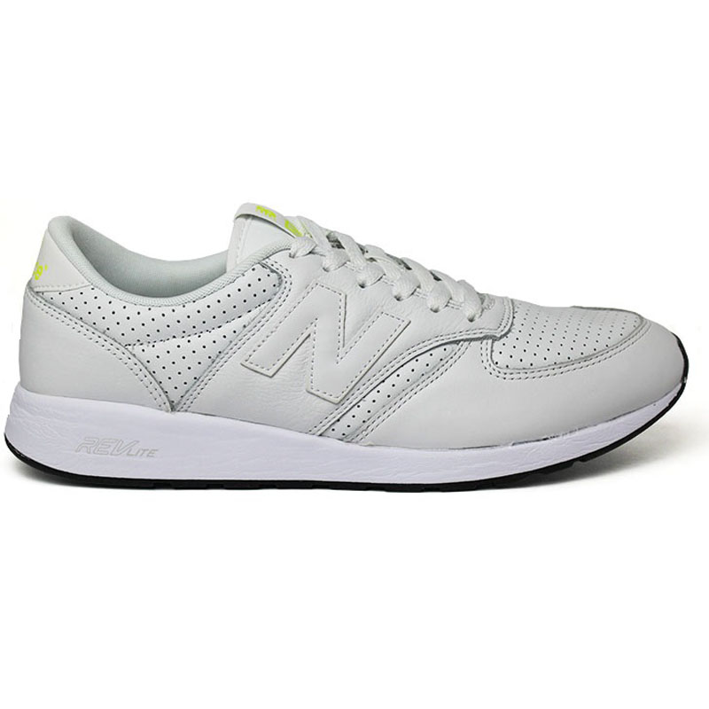 NEW BALANCE 420 MASCULINO COURO ALL WHITE