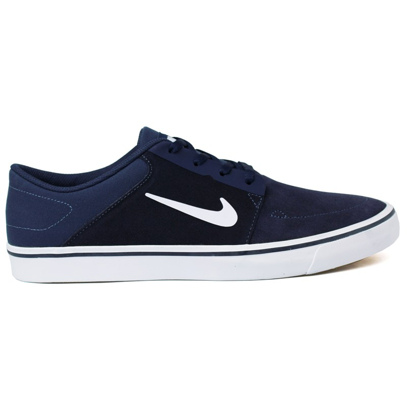 TÊNIS NIKE SB PORTMORE NAVY/WHITE/LIGHT BROWN