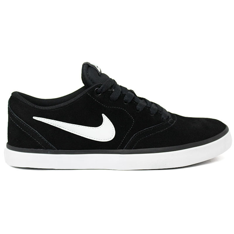 TÊNIS NIKE SB CHECK SOLAR BLACK/WHITE