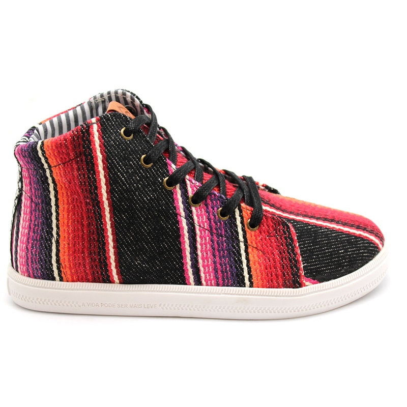 PERKY TENNIS SARAPE BLACK