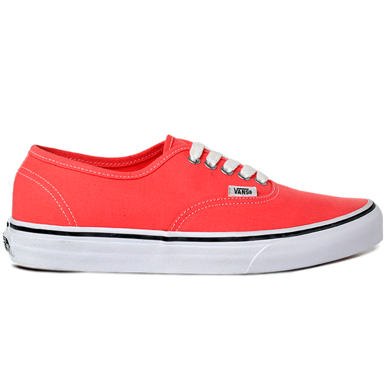 TÊNIS VANS AUTHENTIC FUSION CORAL/TRUE WHITE