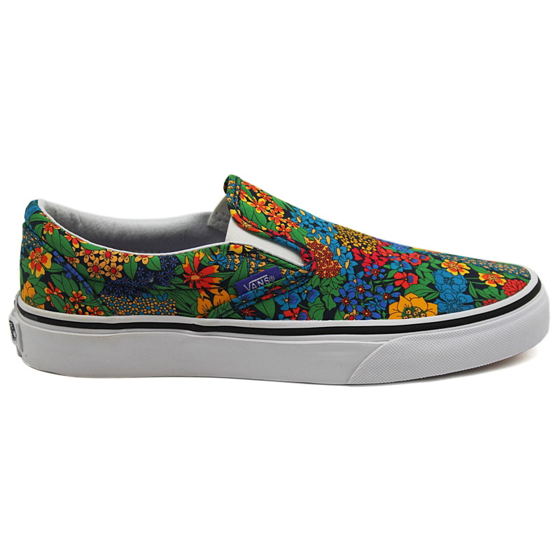 TÊNIS VANS CLASSIC SLIP ON LIBERTY MULTI FLORAL