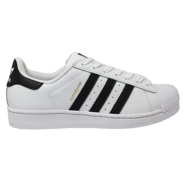 TÊNIS ADIDAS SUPERSTAR FOUNDATION WHITE/BLACK/WHIT