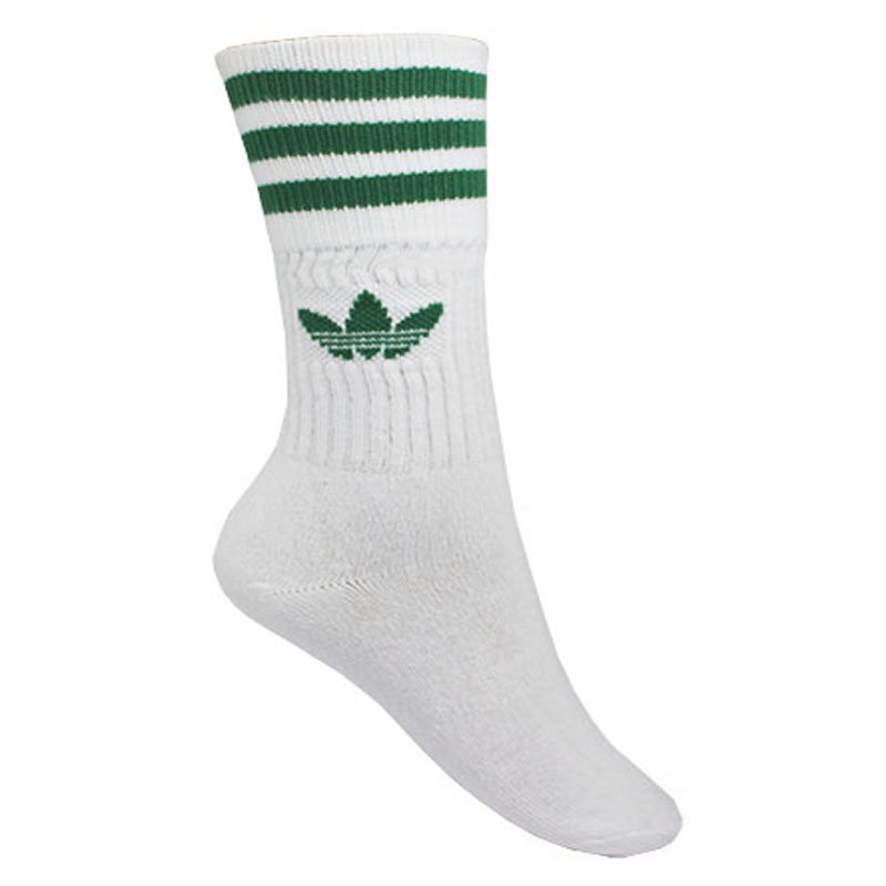 MEIA ADIDAS SOLID CREW SOCK 3P