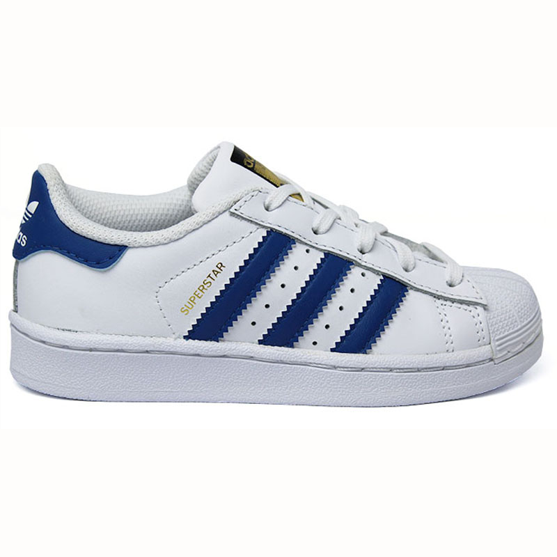 78ecd11b8d5 TÊNIS ADIDAS SUPERSTAR FONDATION KIDS WT BLUE