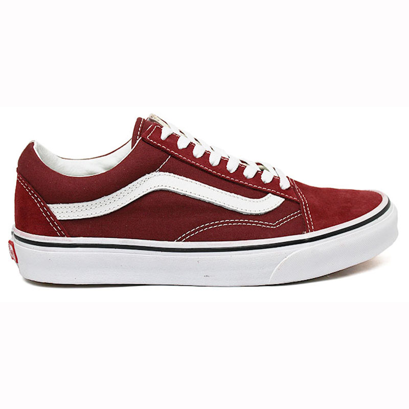 TENIS VANS OLD SCHOOL MADDER BROWN/TRUE WHITE