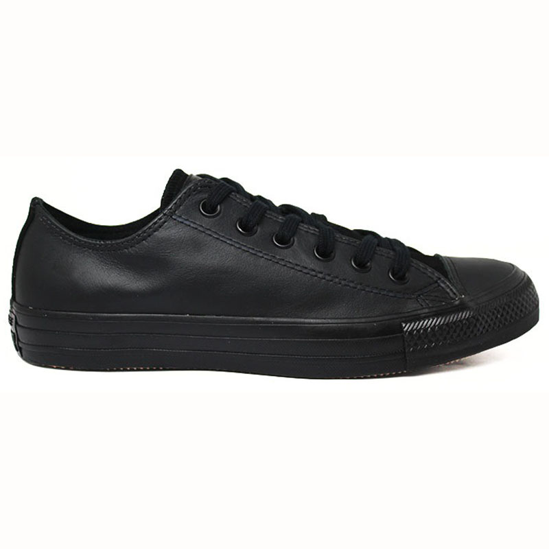 ALL STAR CHUCK TAYLOR LEATHER OX PRETO