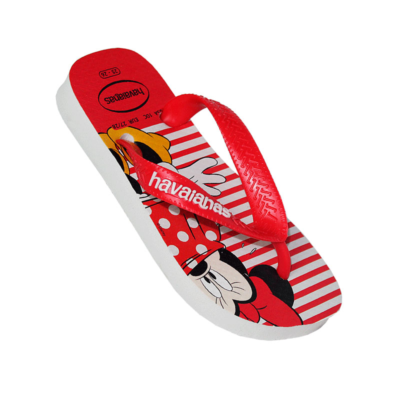 HAVAIANAS KIDS DISNEY STYLISH BRANCO