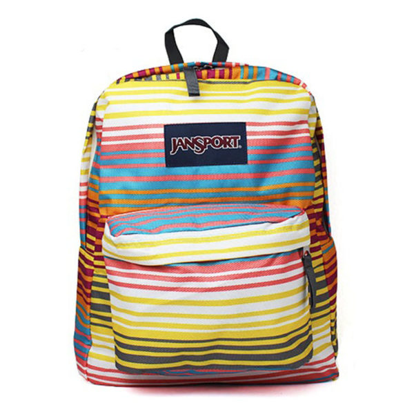 MOCHILA JANSPORT SUPERBREAK MULT COLORED STRIPES