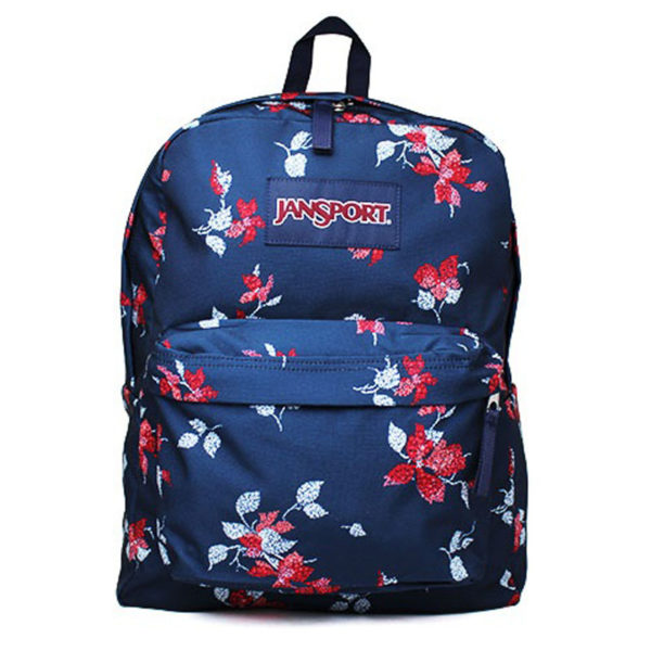 MOCHILA JANSPORT NAVY SWEET BLOSSOM