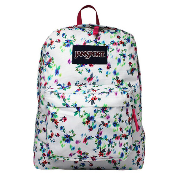 MOCHILA JANSPORT MULTI WHITE FLORAL HAZE