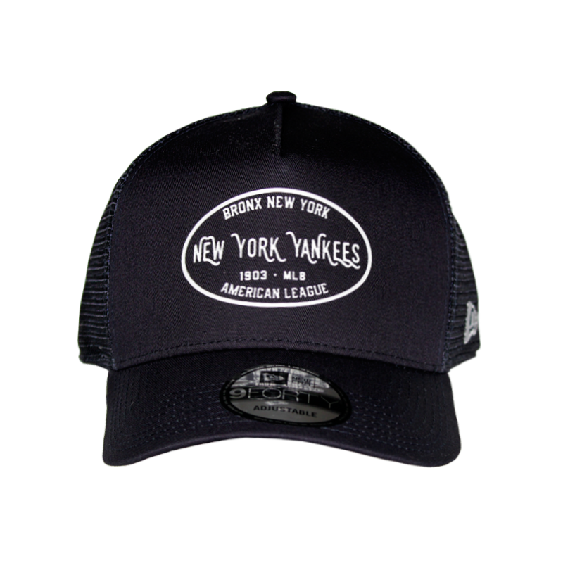 BONÉ NEW ERA TRUCKER CORE LABEL NEYYAN BLACK