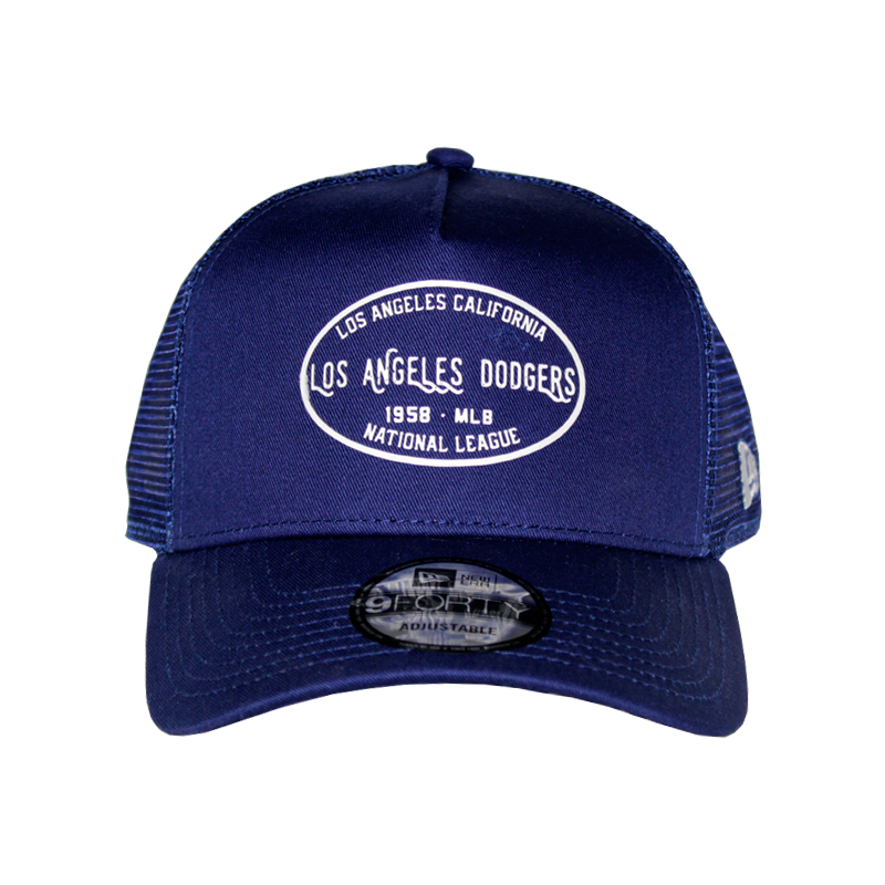 BONÉ NEW ERA TRUCKER CORE LABEL ROYAL