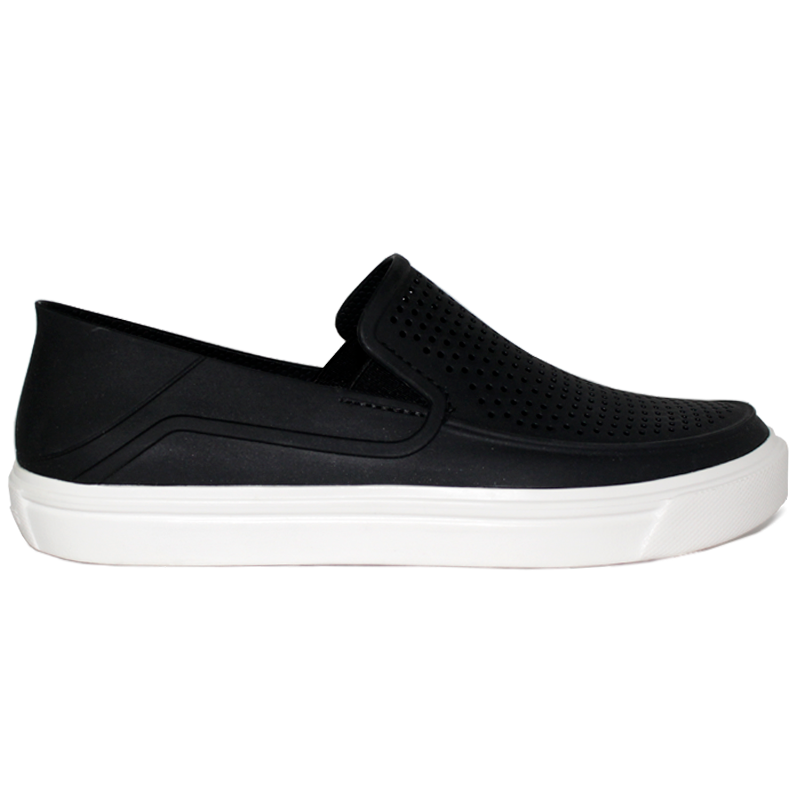 CROCS CITILANE ROKA SLIP-ON BLACK/WHITE MASCULINO