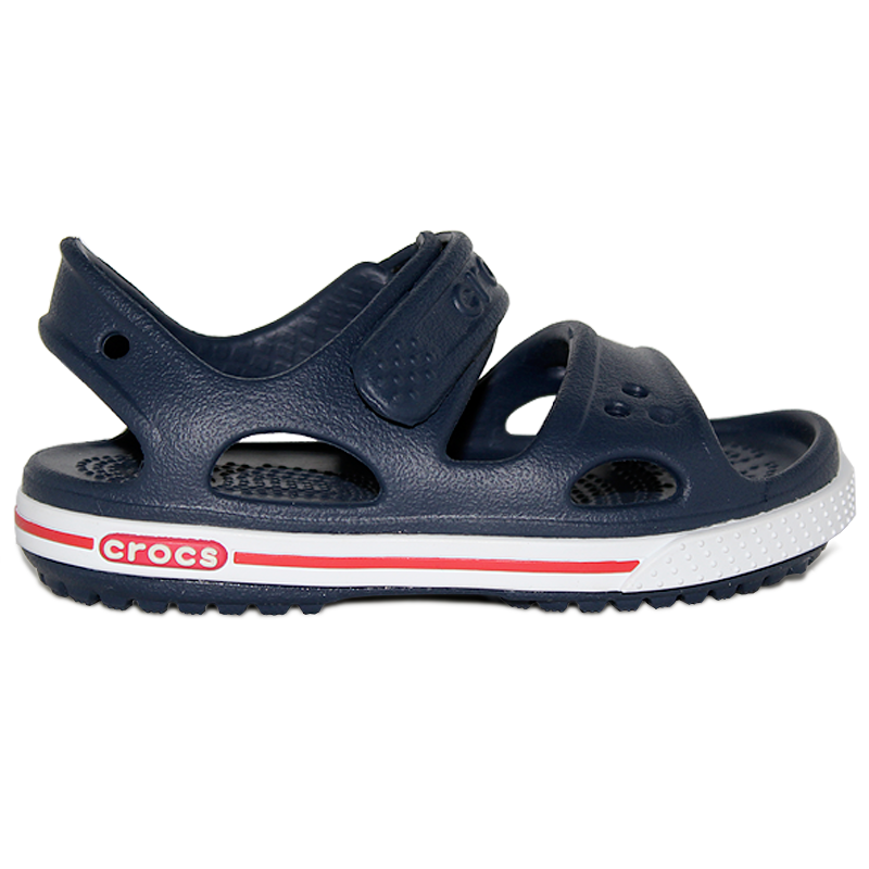 CROCBRAND SANDAL II KIDS NAVY/WHITE