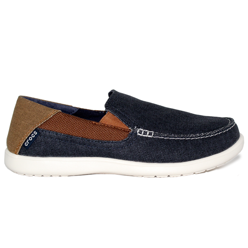 CROCS SANTA CRUZ 2 LUXE NAVY/HAZELNUT