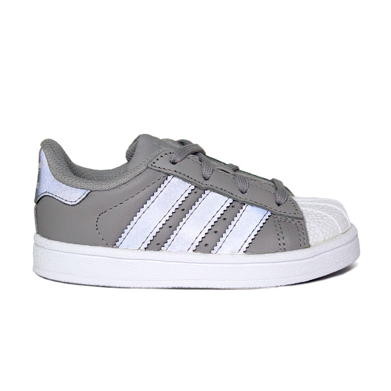 ADIDAS SUPERSTAR SOLID GREY/SILVER METALLIC