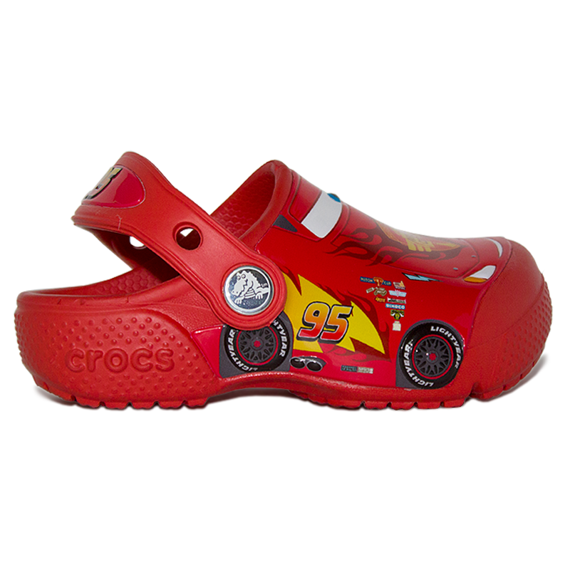 CROCS INF. FUN LAB CARS 3 MOVIE CLOG FLAME