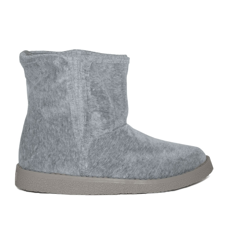 PERKY LOW BOOT GREY BOW