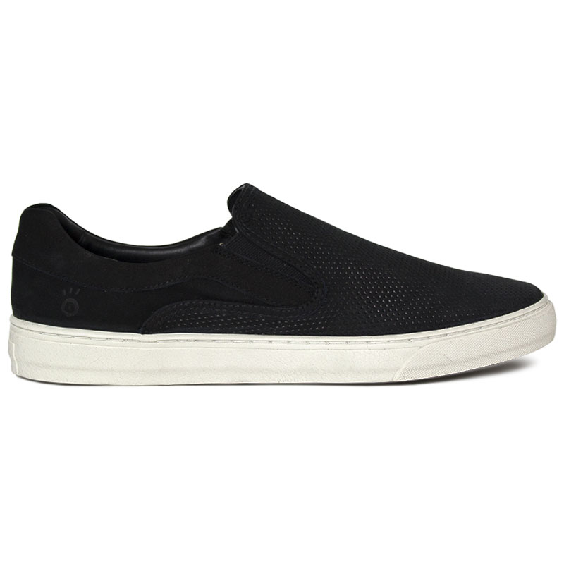 SLIP ON CONVEXO MULTIPONTOS PRETO