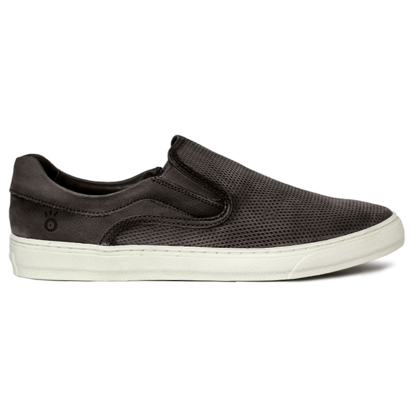 SLIP ON CONVEXO MULTIPONTOS CINZA