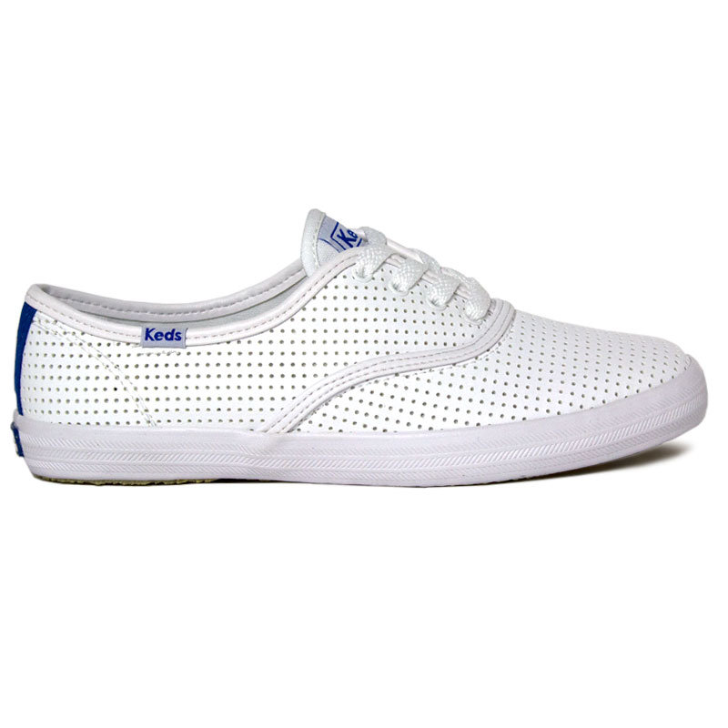 TENIS KEDS CHAMPION RETRO COURT PERF BRANCO