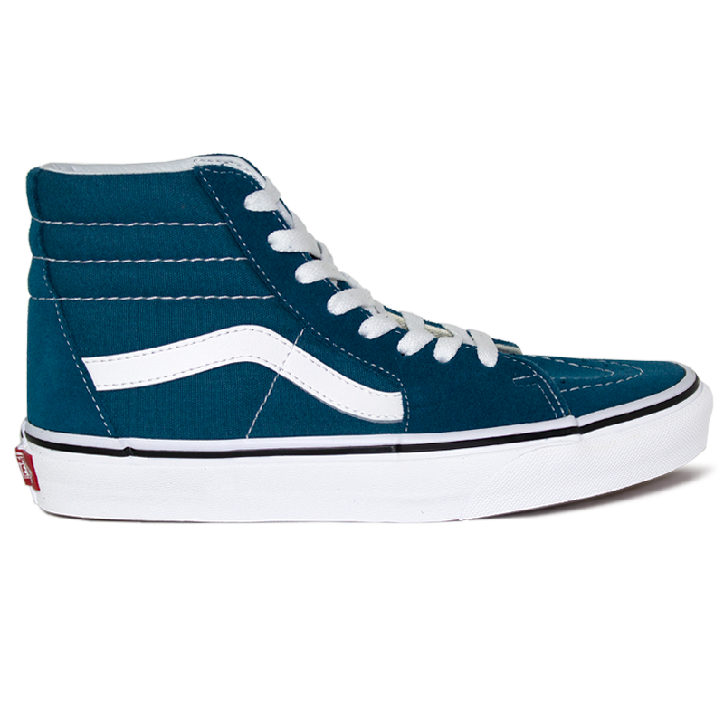 TENIS VANS SK8 HI CORSAIR BLUE/TRUE WHITE