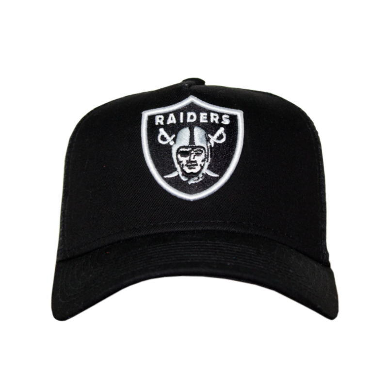 BONÉ NEW ERA TELINHA RAIDERS BLACK