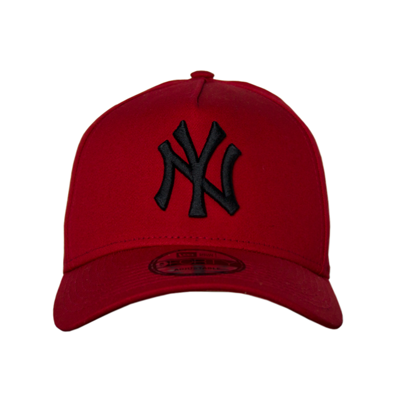BONÉ NEW ERA BASICS NEW YORK RED/BLACK