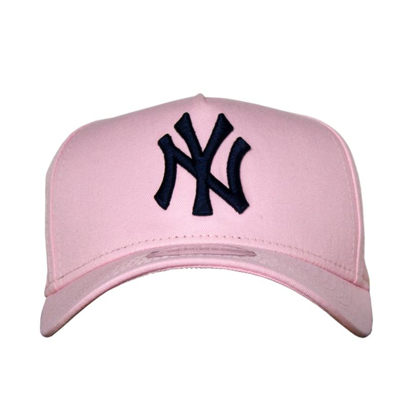 BONÉ NEW ERA BASICS NEW YORK PINK/BLACK