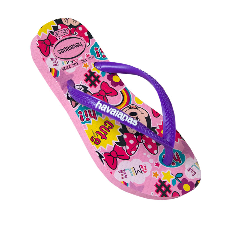 HAVAIANAS KIDS DISNEY COOL ROSA QUARTZ