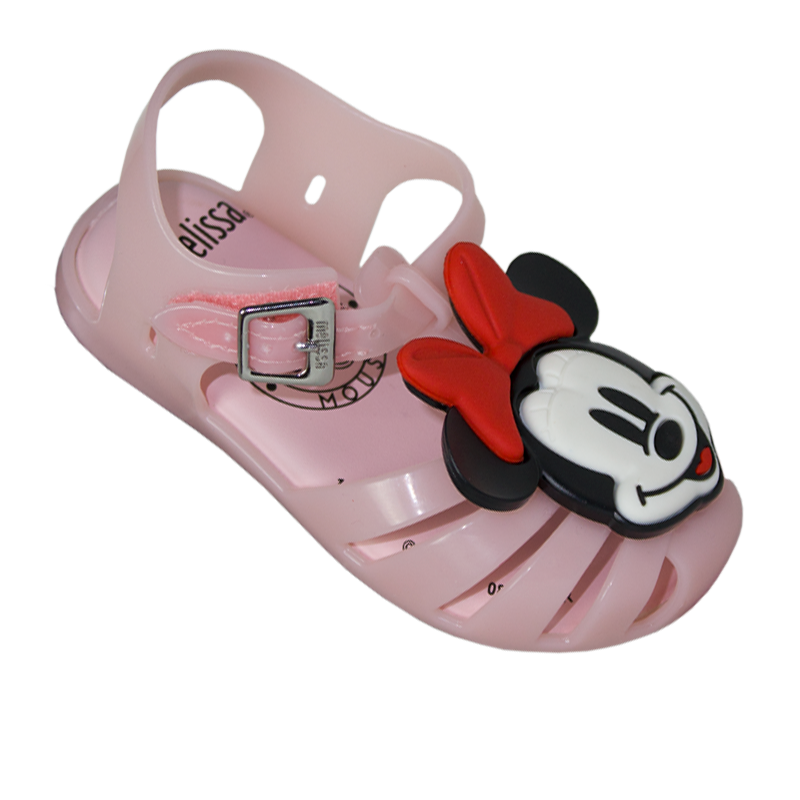 MINI MELISSA ARANHA + MICKEY AND FRIENDS ROSA BEBE