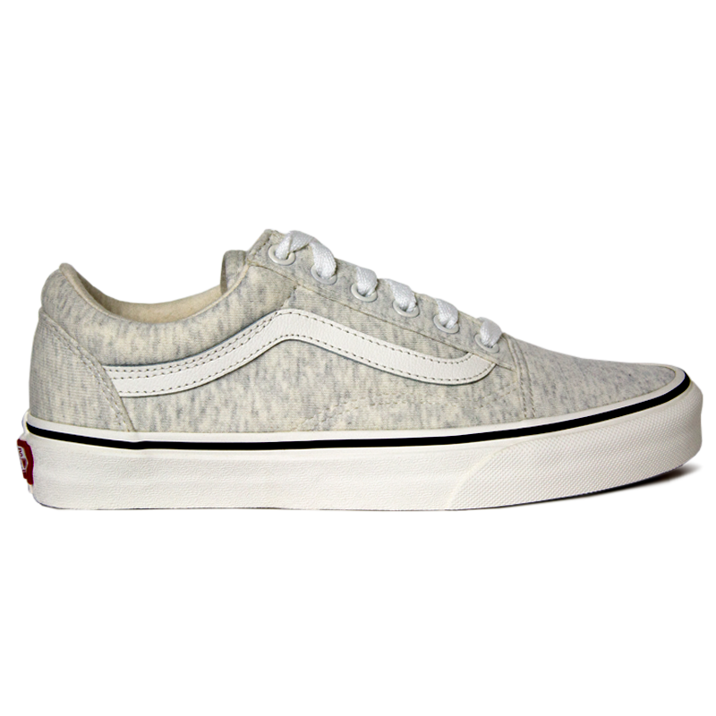 TÊNIS VANS OLD SKOOL (JERSEY) SNOW WHITE