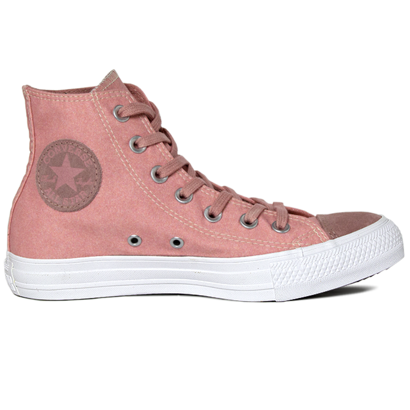 ALL STAR SEASONAL ECO SUEDE HI ROSA FERRUGEM