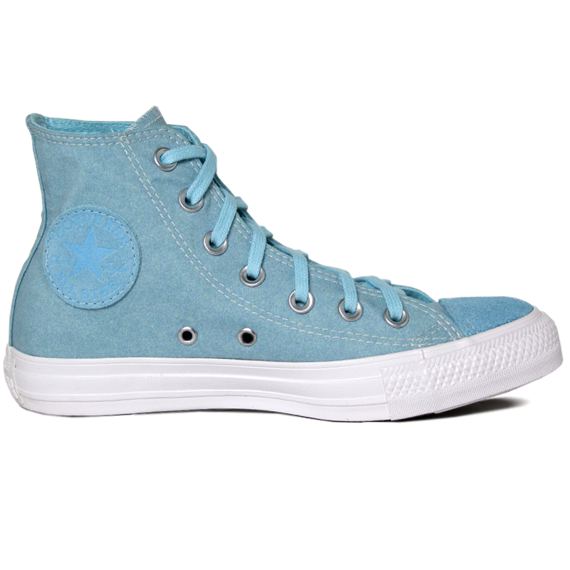 ALL STAR SEASONAL ECO SUEDE HI AZUL AGUA