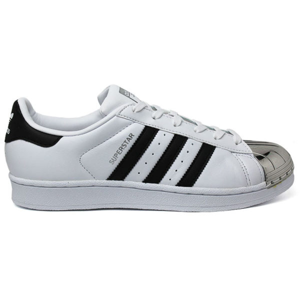TÊNIS ADIDAS SUPERSTAR METAL TOE BC/PT