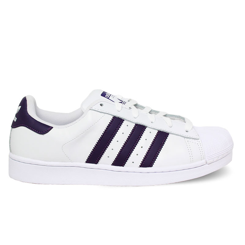 TENIS ADIDAS SUPERSTAR WHITE/LEGEND PURPLE