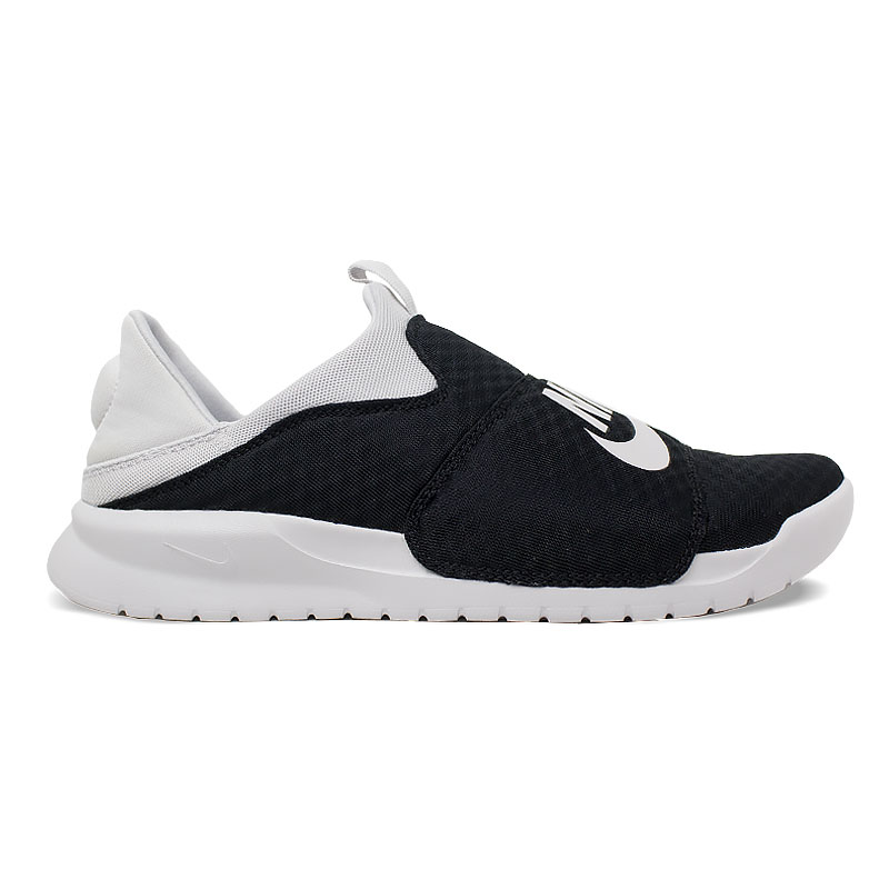 NIKE BENASSI SLIP ON BLACK/WHITE