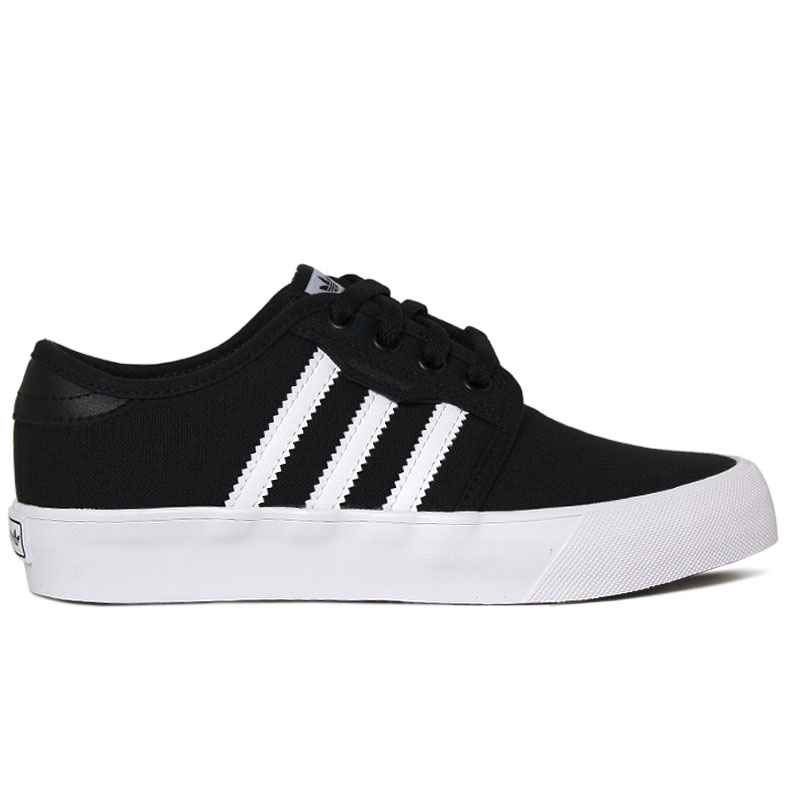 TENIS ADIDAS SEELEY J BLACK/WHITE