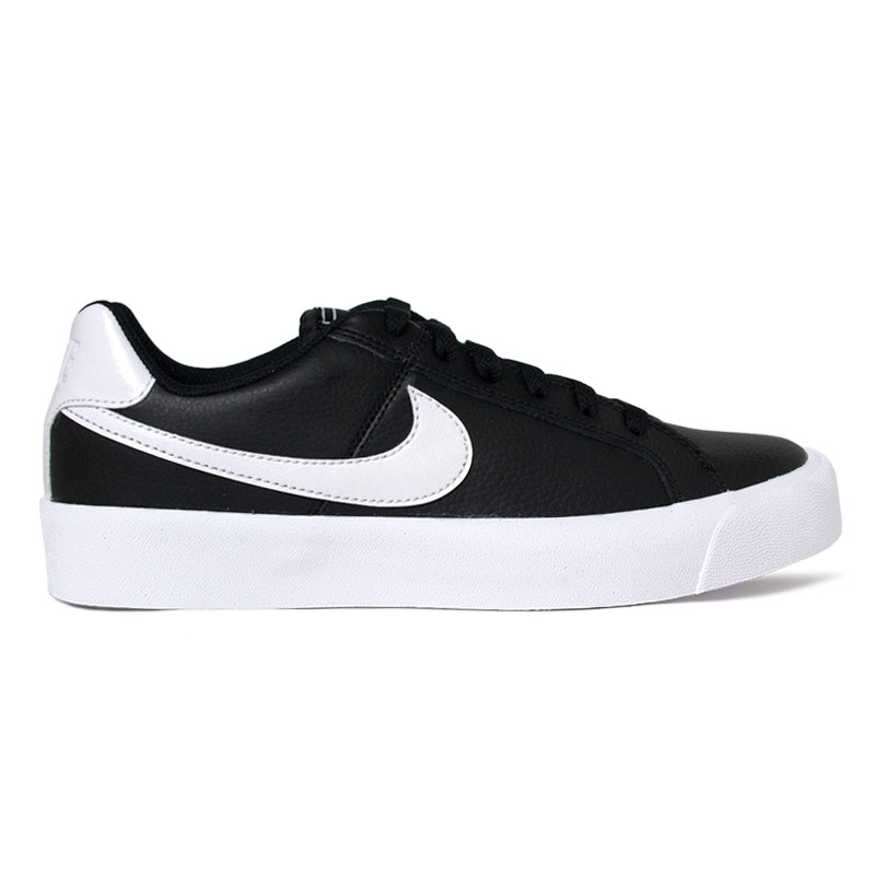 NIKE COURT ROYALE AC BLACK/WHITE