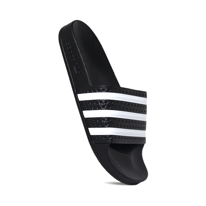 CHINELO ADIDAS ADILETTE BLACK/WHITE