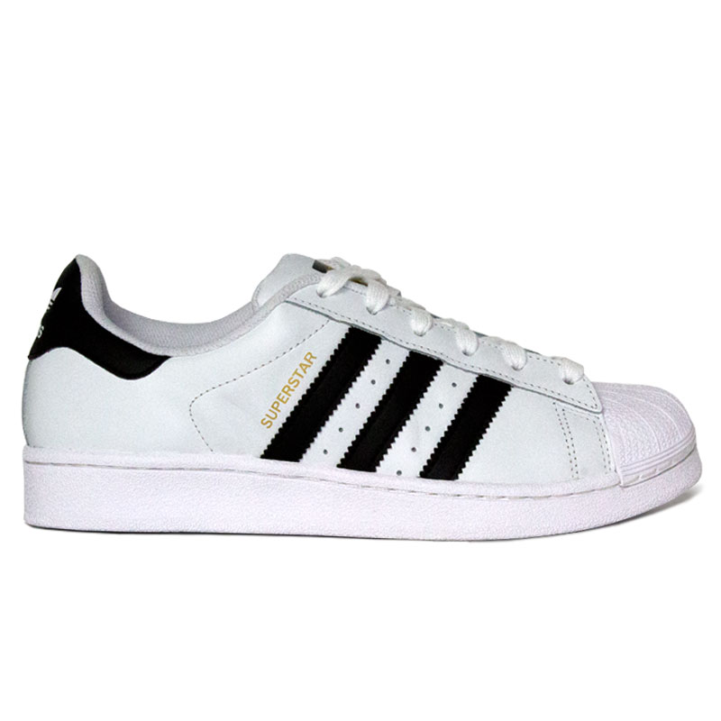 TENIS ADIDAS SUPERSTAR WHITE/BLACK