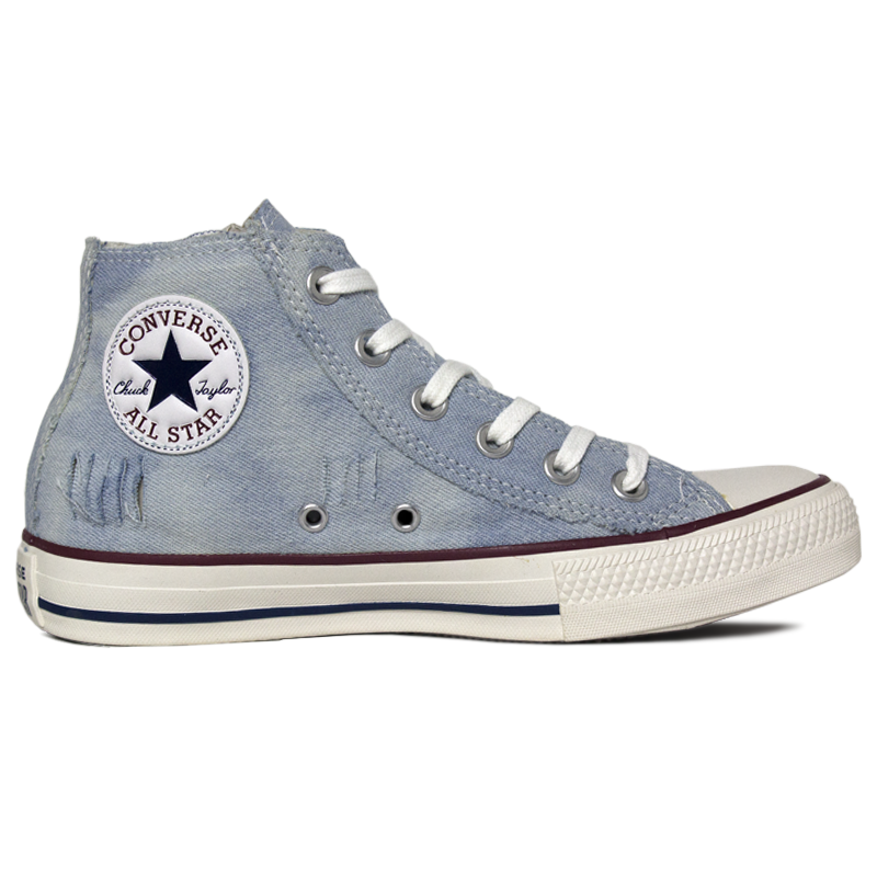 6e07ac6b4 ALL STAR CHUCK TAYLOR JEANS DESTROYED BLUE