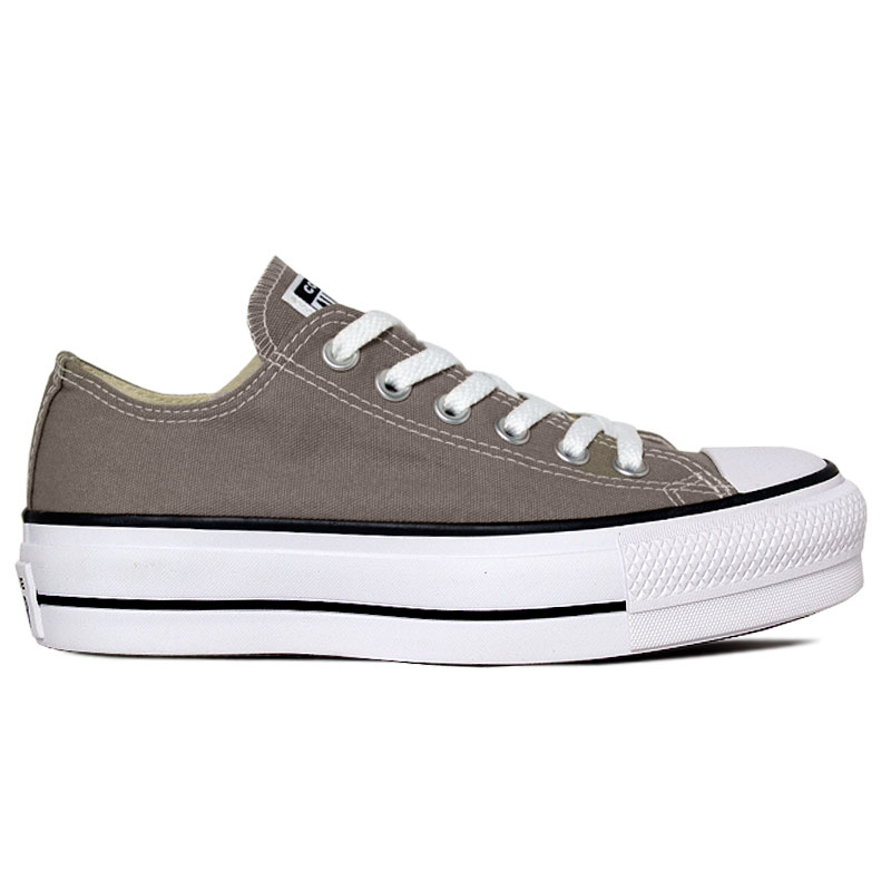 ALL STAR PLATFORM CINZA PEDRA