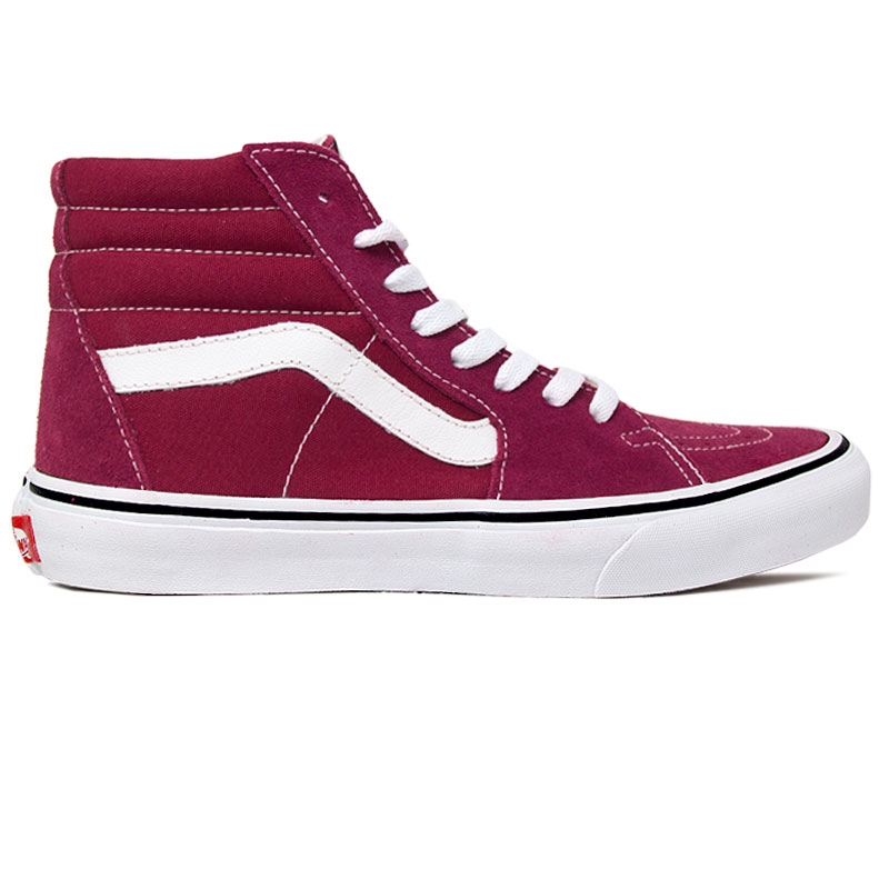 TENIS VANS SK8 HI RUMBA RED/TRUE WHITE