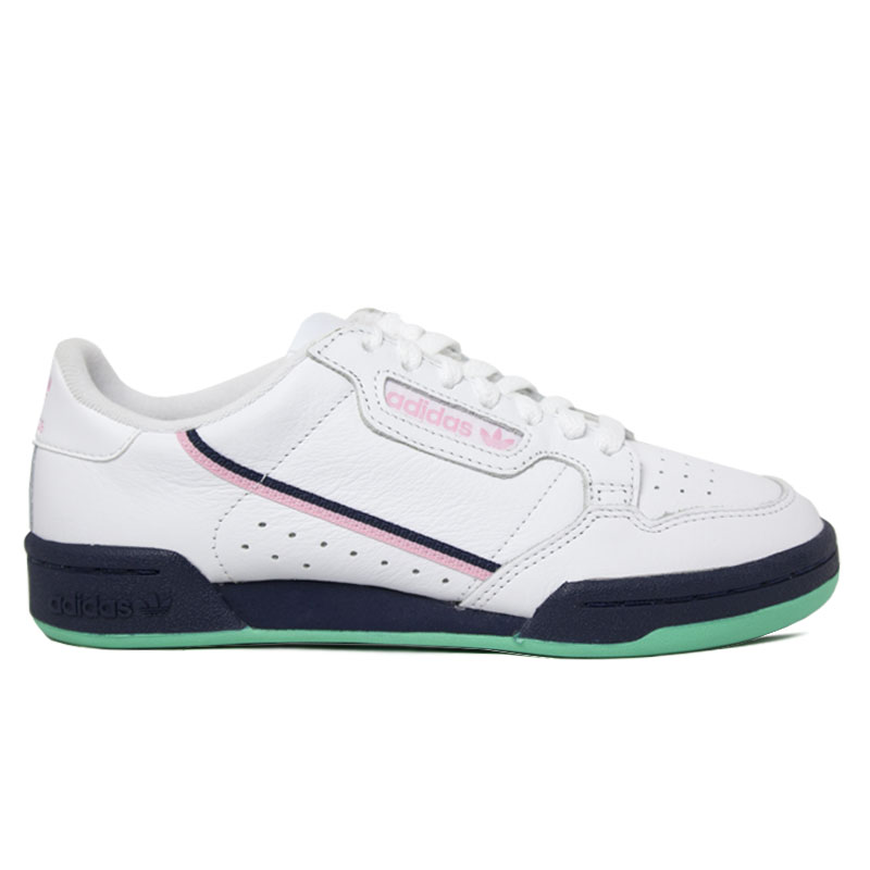 ADIDAS TENIS CONTINENTAL 80 WHITE/COLOR