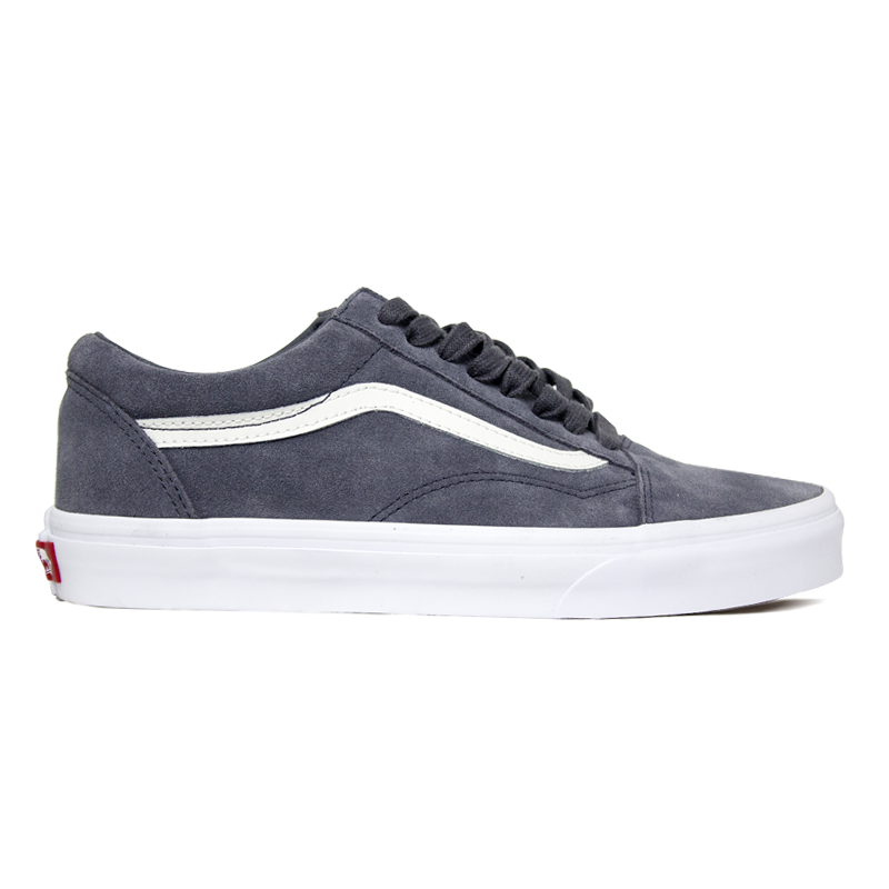 13550a13a3a TENIS VANS OLD SKOOL (SOFT SUED) EBONY  TRUE WHITE