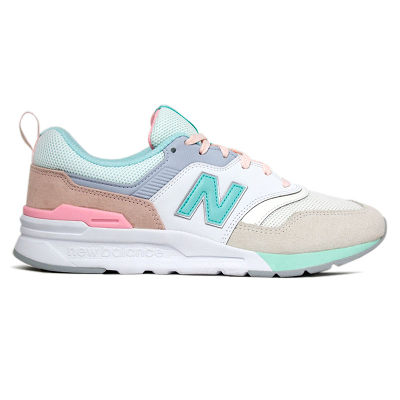 NEW BALANCE 997 BEIGE/MINT/ROSE