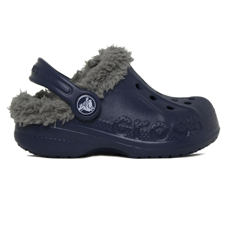 CROCS BAYA LINED KIDS NAVY-SMOKE